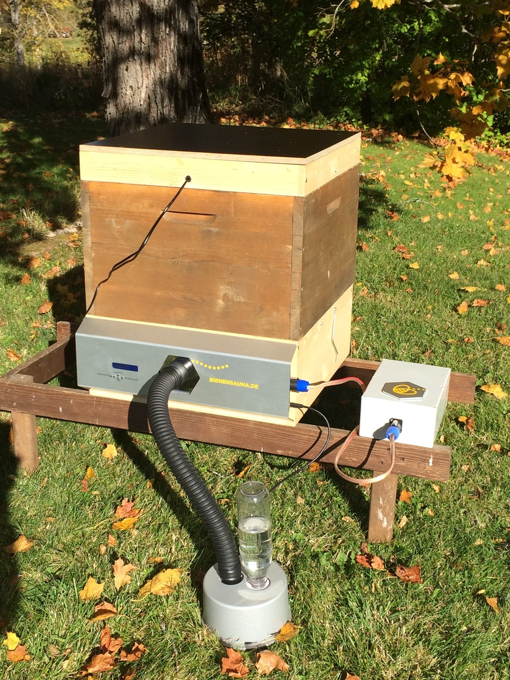 Bienensauna Komplettpaket mit Netzteil