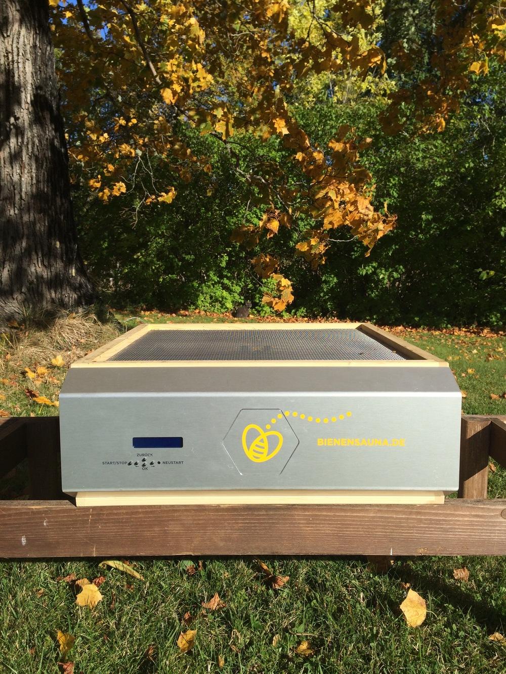 Bienensauna ohne Deckel