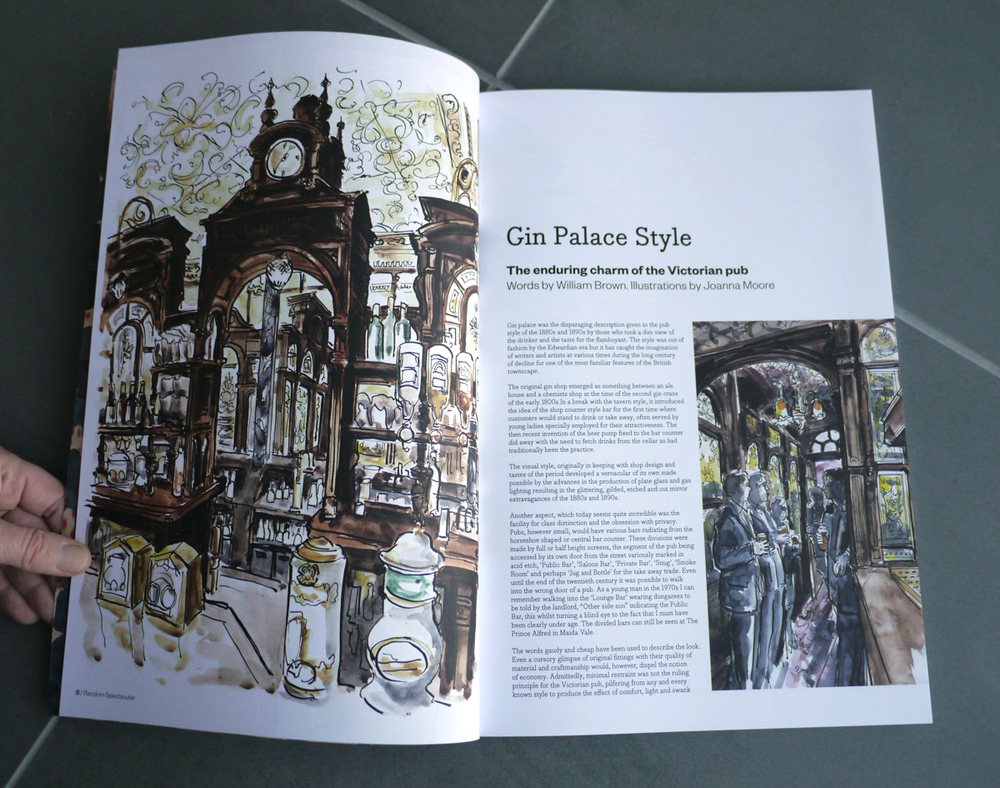 Gin Palace Style by William Brown and Joanna Moore