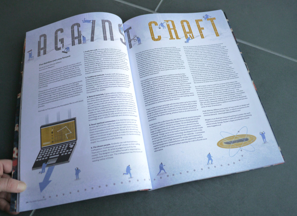 Against Craft by Hugh Aldersey-Williams and Maggie Li