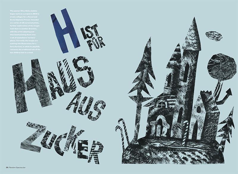 H ist Für Haus aus Zucker by Clive Hicks-Jenkins