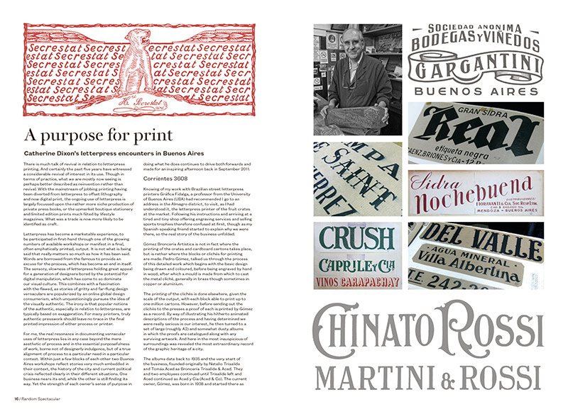 A Purpose for Print by Catherine Dixon