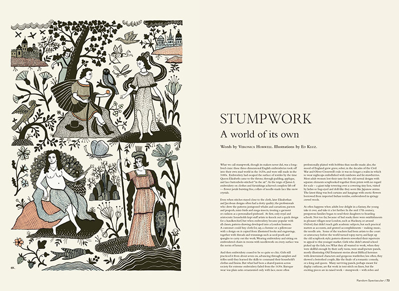 Stumpwork by Ed Kluz and Veronica Horwell