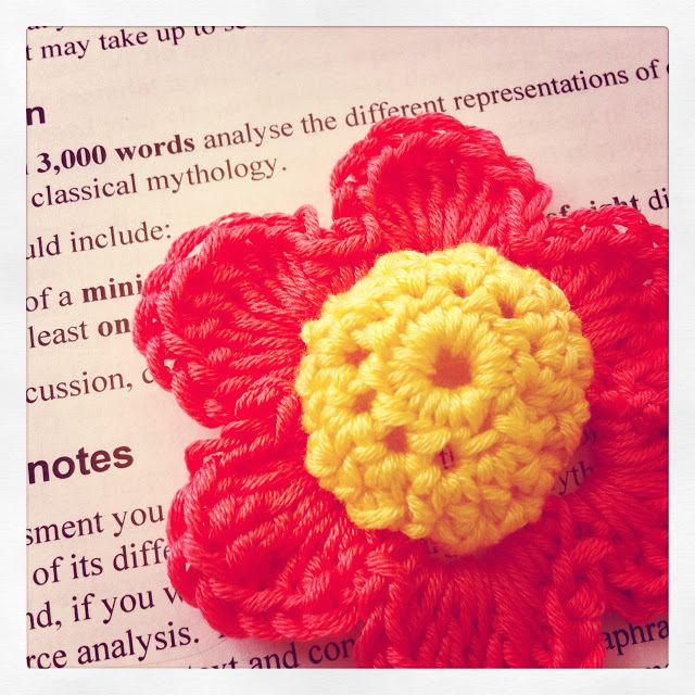 study or crochet?