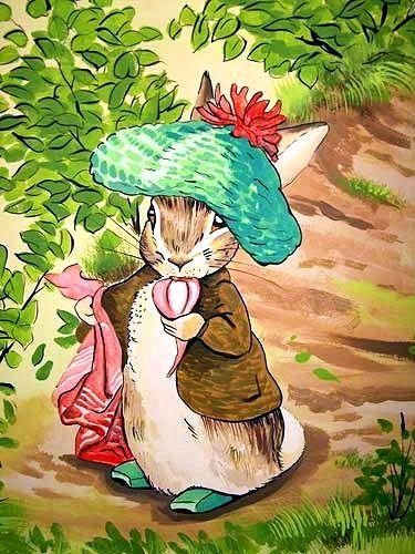 Tam o shanter Benjamin Bunny style yo! Image copyright Beatrix Potter