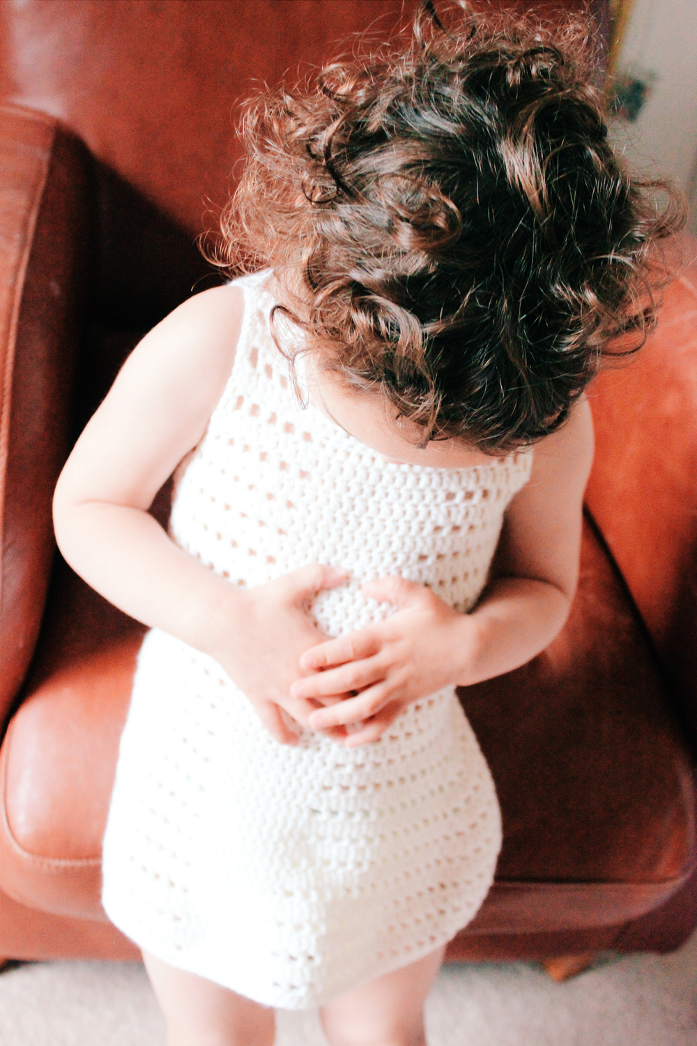 Pretty crochet dress pattern