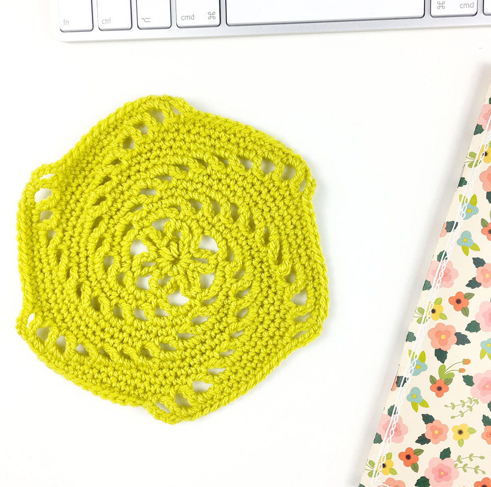 How To Crochet The Vintage Swirly Hexagon Pattern Potter Bloom