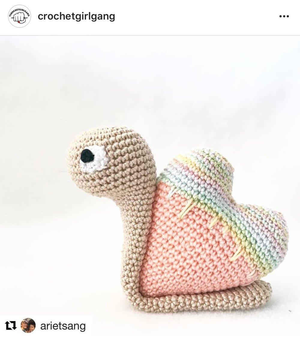 @arietsang using a pattern from @konekocrochet