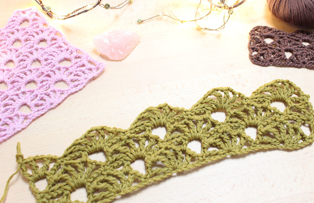 How To Crochet Fancy Arcade Stitch Potter Bloom