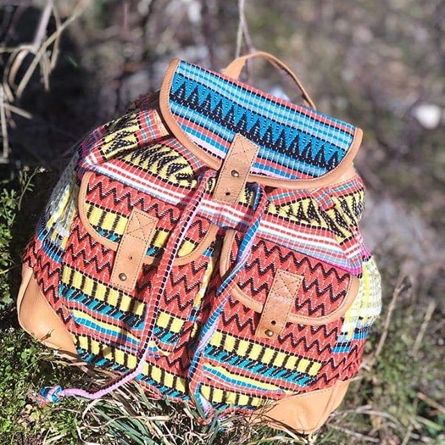 Its Back! 😃  Our popular ex Topshop peruvian inspired backpack! Perfect for those summer travels and adventures... Colours price £18.00 ☀️🌍🏜🏝 #backpack #summer #travel #adventure #fashion #fundraising