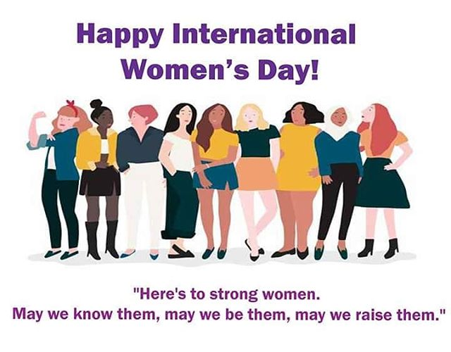 Happy International Women's Day! 😊  #internationalwomensday