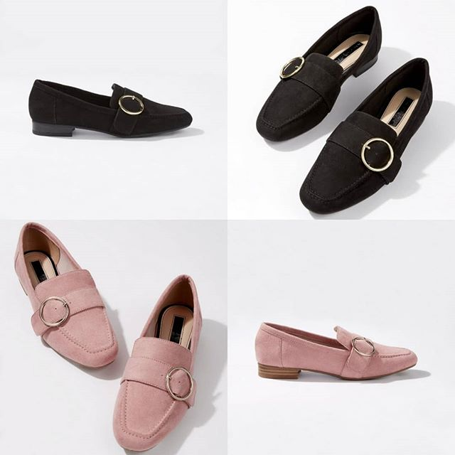 New arrival!  These ex Miss Selfridge flossie circle trim loafers. Available in black and pink. Sizes 3-8. RRP £35.00..Colours price £18.00! 😍  Available on all upcoming spring/summer shows! 😃💐☀️ #shoes #fundraising #fashion #fashionshows