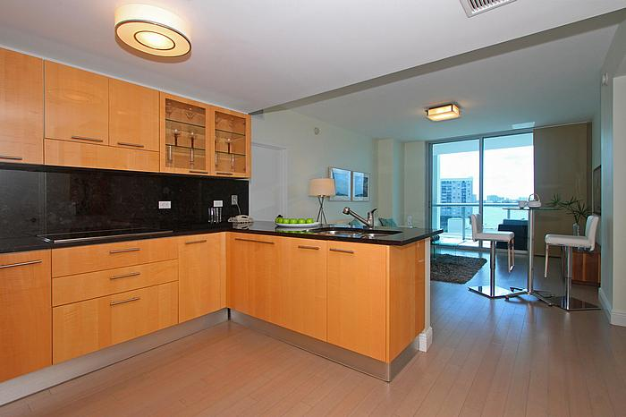 Staged Miami Beach Condo