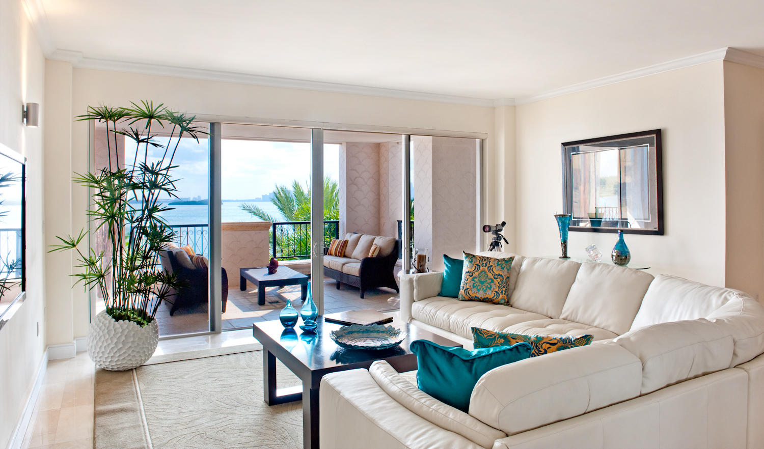 FISHER ISLAND FAMILY ROOM | AFTER