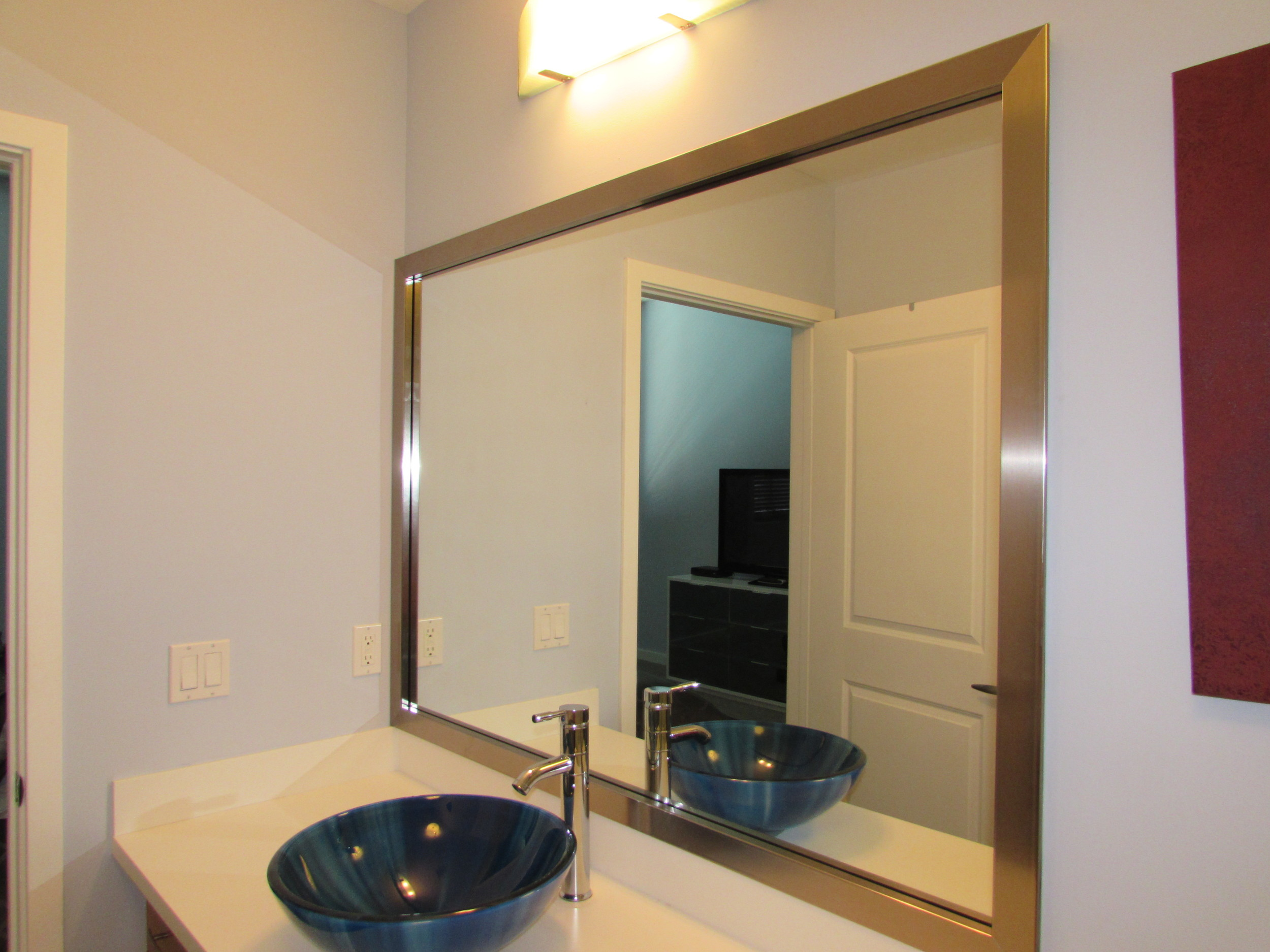 Custom Framed Mirrors by Captiva Design