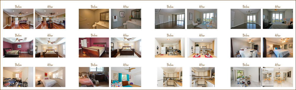 Click the screen-capture image above to visit our Interior Redesign Before & After Gallery. there you will be able to view larger photos of each transformation.
