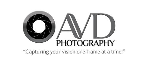 AVD Photography logo; Tony Barreau