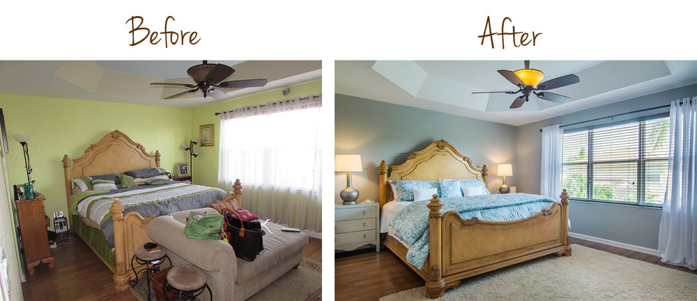 Interior Redesign Before & After — Captiva Design