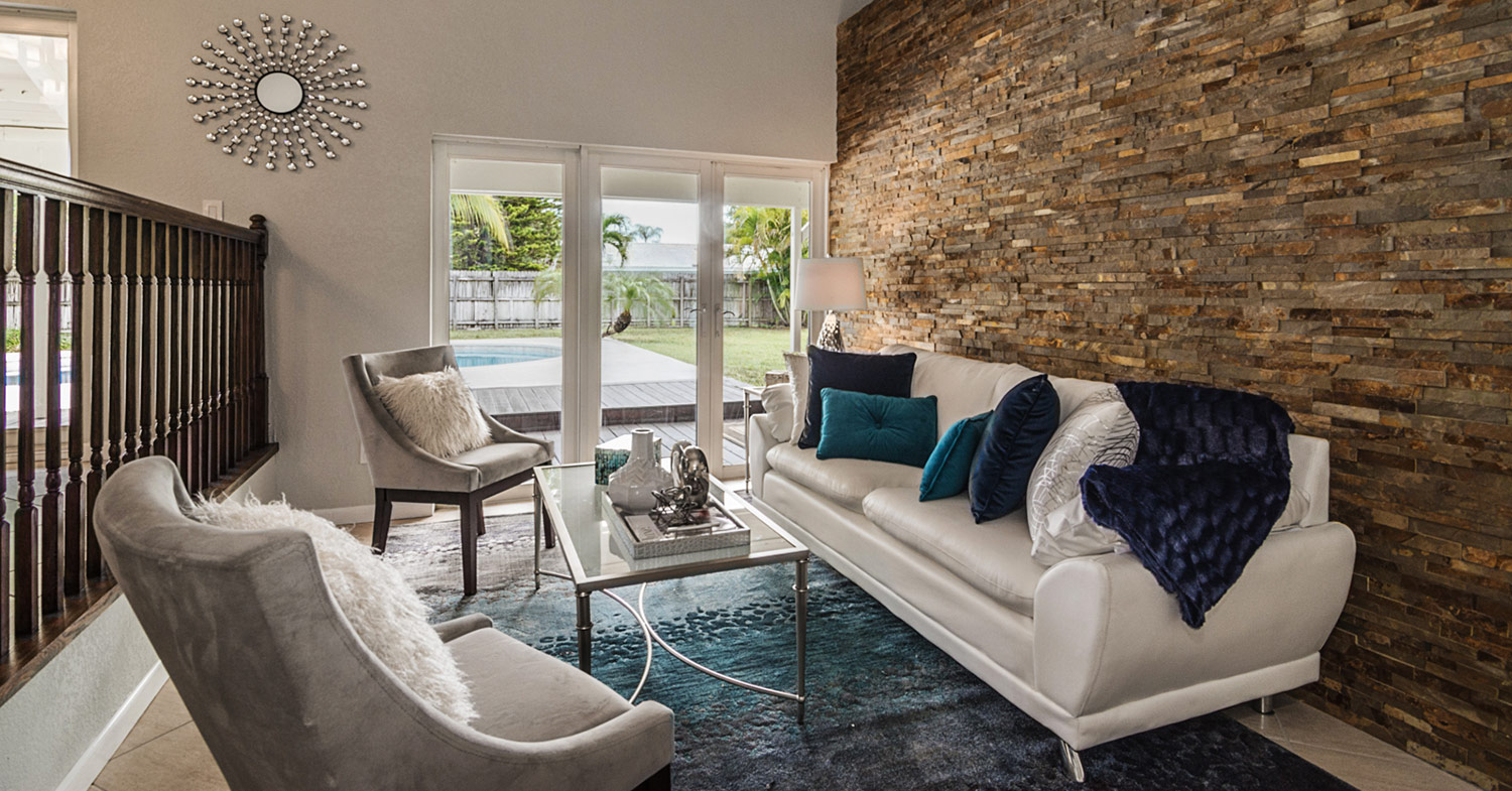 Interior redesign project by captiva designs bridget king