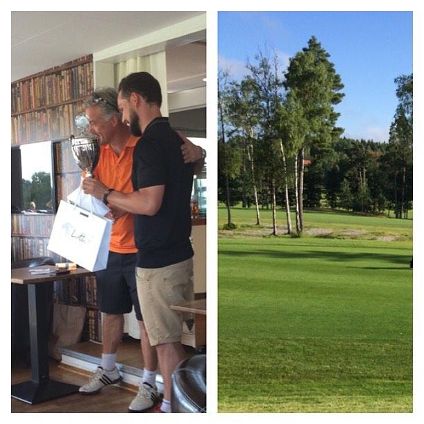 Lotti P. sponsrar P&P Golf Championship 2015 ⛳️☀️😎 #p&pgolfchampionship2015 #golf #championship #p&pmeetings #cashmere #lottip