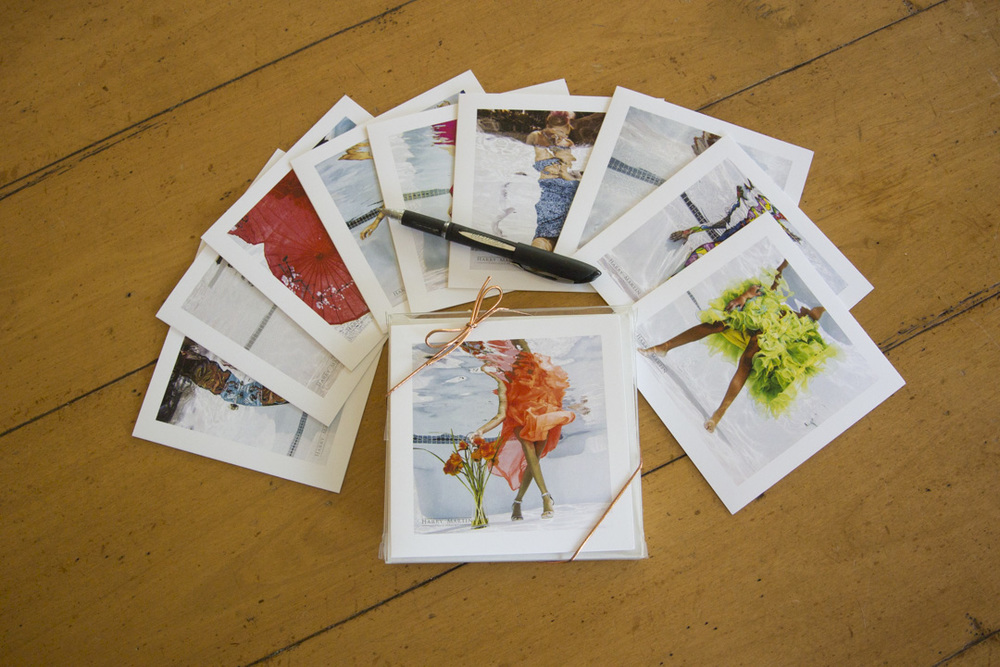 Note cards come in a ten-pack with envelopes and some of my favorite underwater images from the collection.