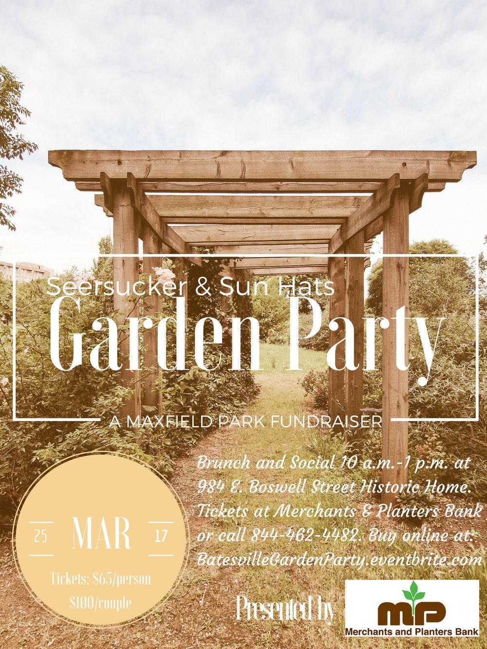 Join us for a throwback Garden Party — Main Street Batesville