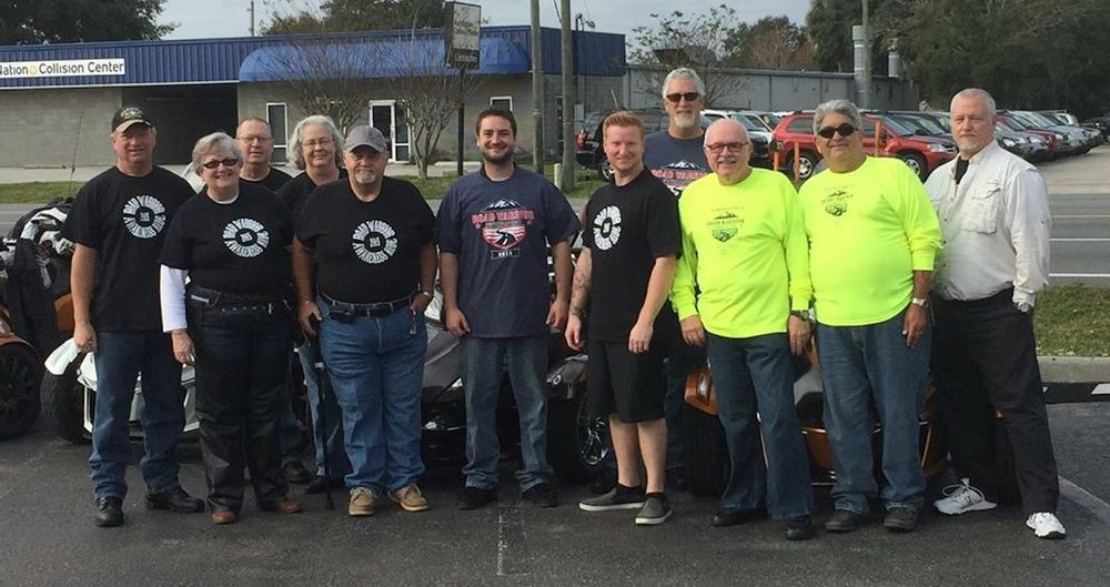 Gathered at Central Florida PowerSports for ride.