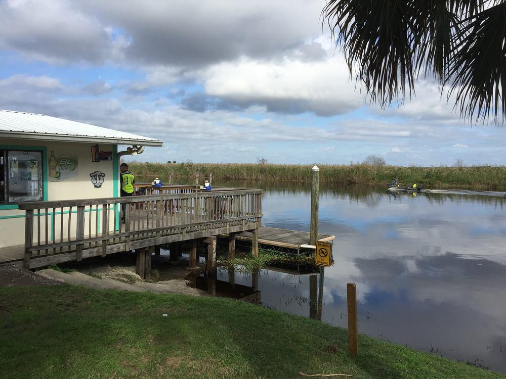 Lunch at Gator Riverside Grill in Sanford, FL