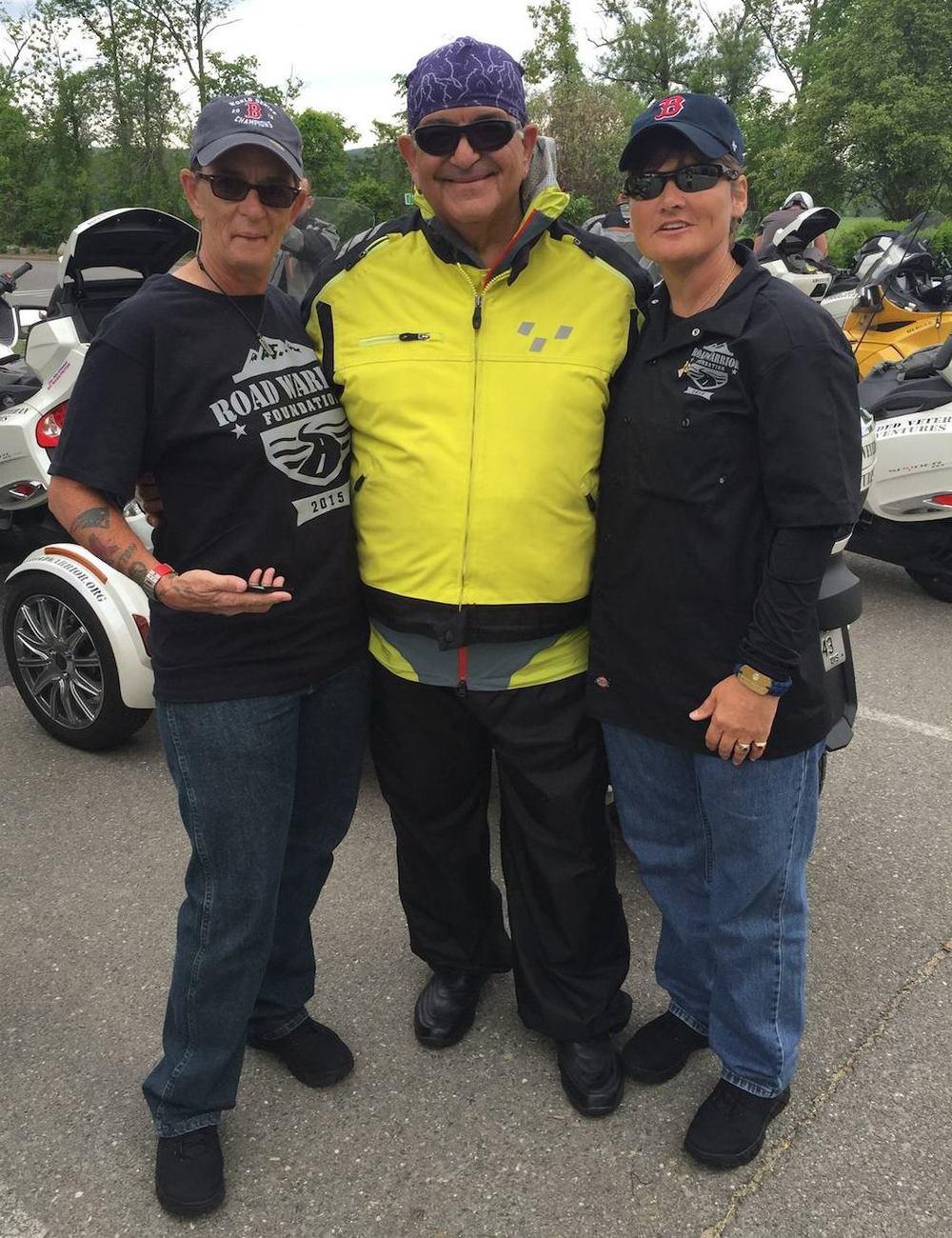 Kim Benoit, Doug, & Kathy Champion