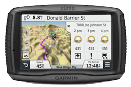 Garmin GPS Dealership Updates Zumo590 Lm Motorcycle Gps Detail