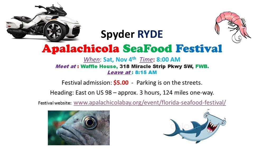 Spyder RYDE Apalachicola SeaFood Festival.jpg