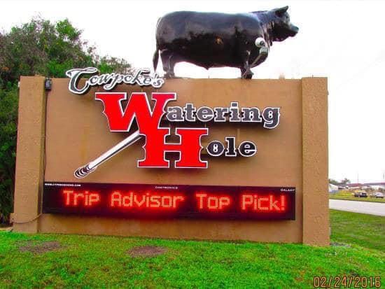 Lunch Spot = Cowpokes Watering Hole ( website )