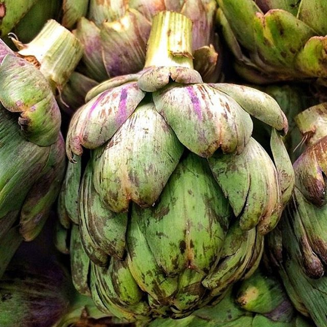 ARTICHAUT [ahr-tee-SHOH] 💚The French word for artichoke 💚