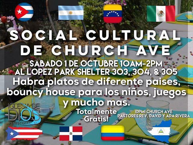 October 1st!!! Te esperamos en Al Lopez Park a las 10am! Dios Te bendiga!