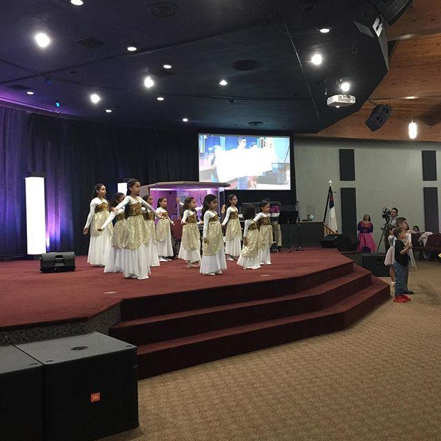 Anointed Worship- Ministerio de danza de niñas. IDPMI-Church Ave. Tampa