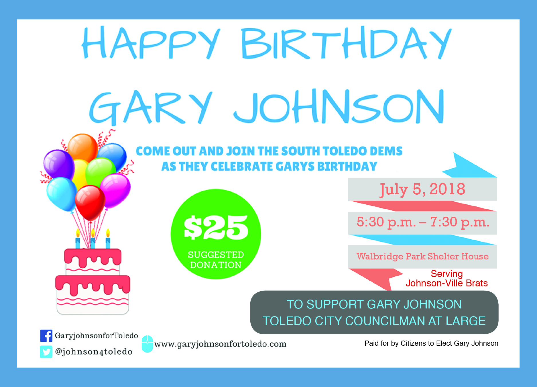 Events lucas county democratic party gary johnson birthday invitation 6 13 18 electronicg stopboris Choice Image