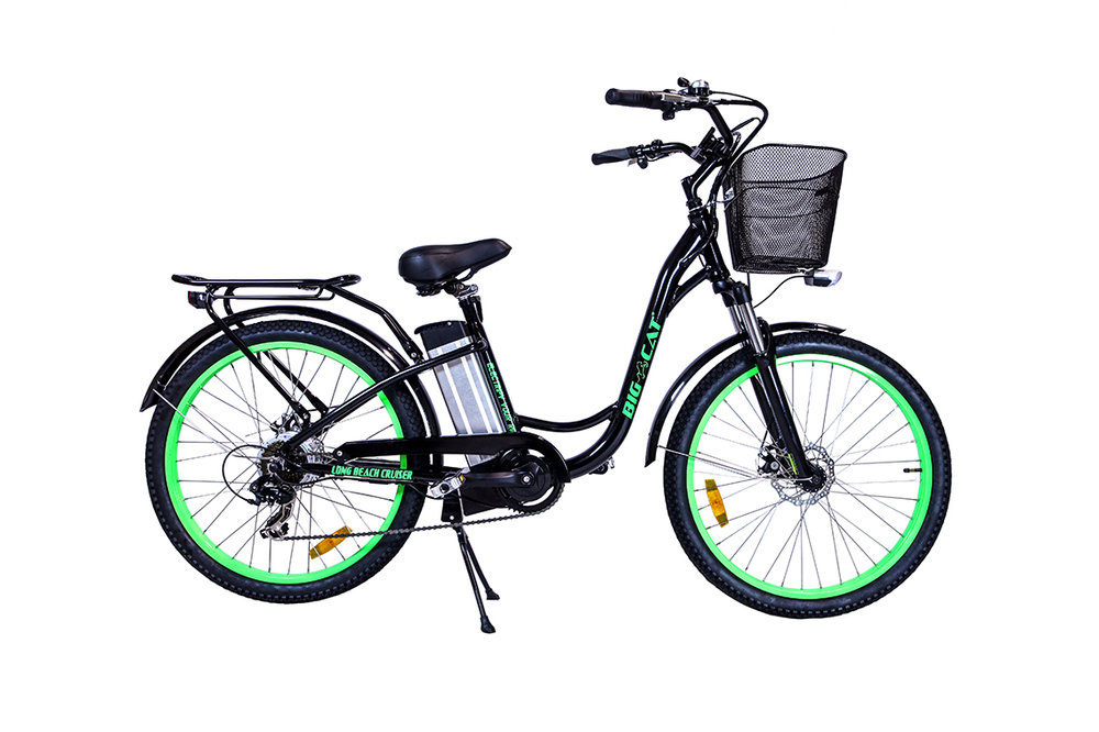 long beach cruiser 500 electric bike
