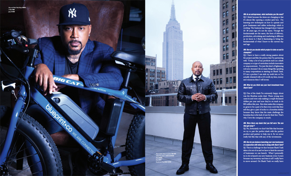 Daymond John Shark Tank Custom Big Cat ebike