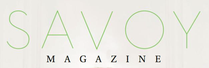 Savoy Magazine, April 2016