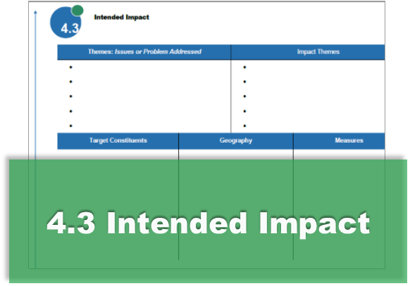 4.3 Intended Impact Survey