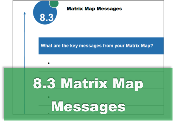 8.3 Matrix Map Messages