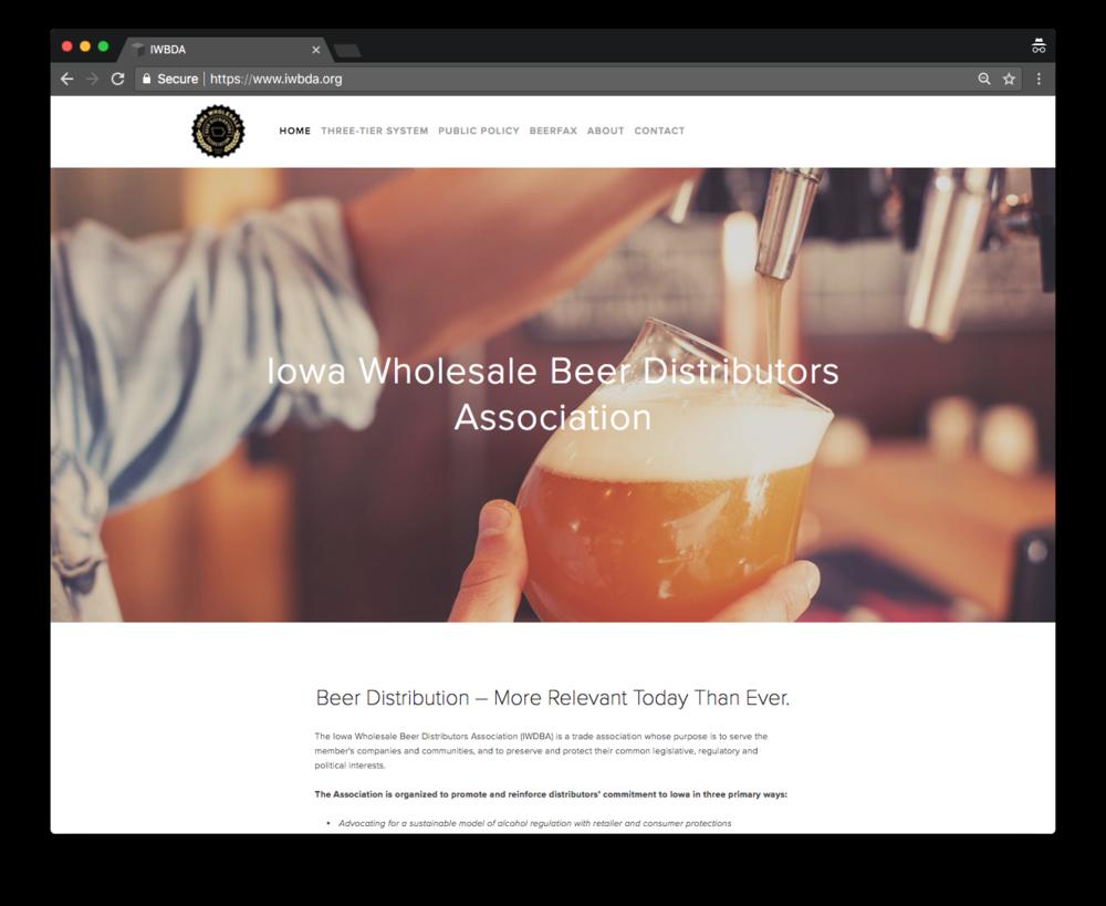 Iowa Wholesale Beer Distributors Association