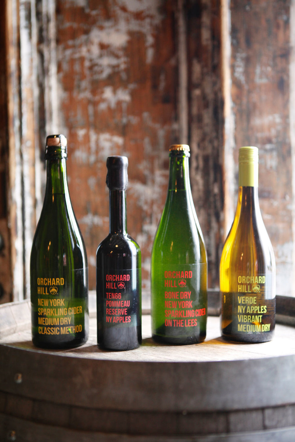 Orchard Hill Hard Ciders  express the apples they are made from, the land those apples are grown on, and our devotion to quality. Try both our bottle-conditioned, extra brut  Red Label  and the méthode champenoise, demi-sec  Gold Label.
