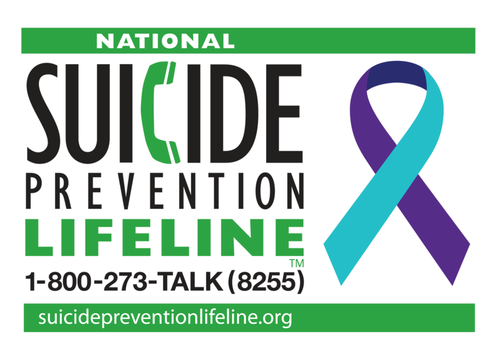 Are you in crisis? Call 24/7 1-800-273-8255
