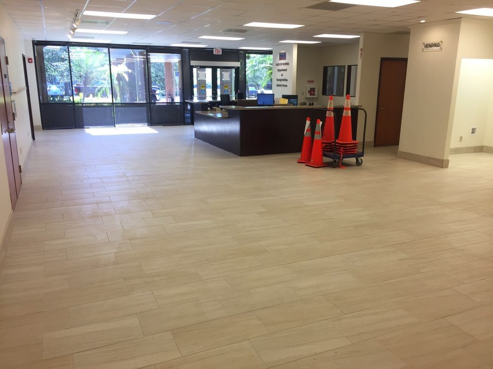 Florida Department of Transportation - Floor Removal + Tile Installation