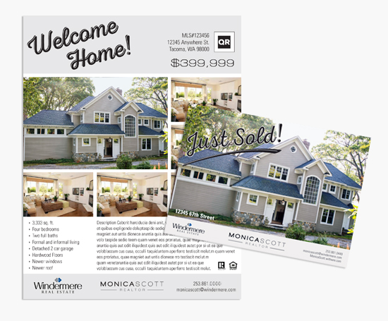 Real Estate Marketing Collateral  Redesign