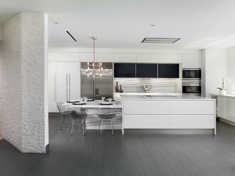 Contemporary Kitchen - AGSIA Design Group
