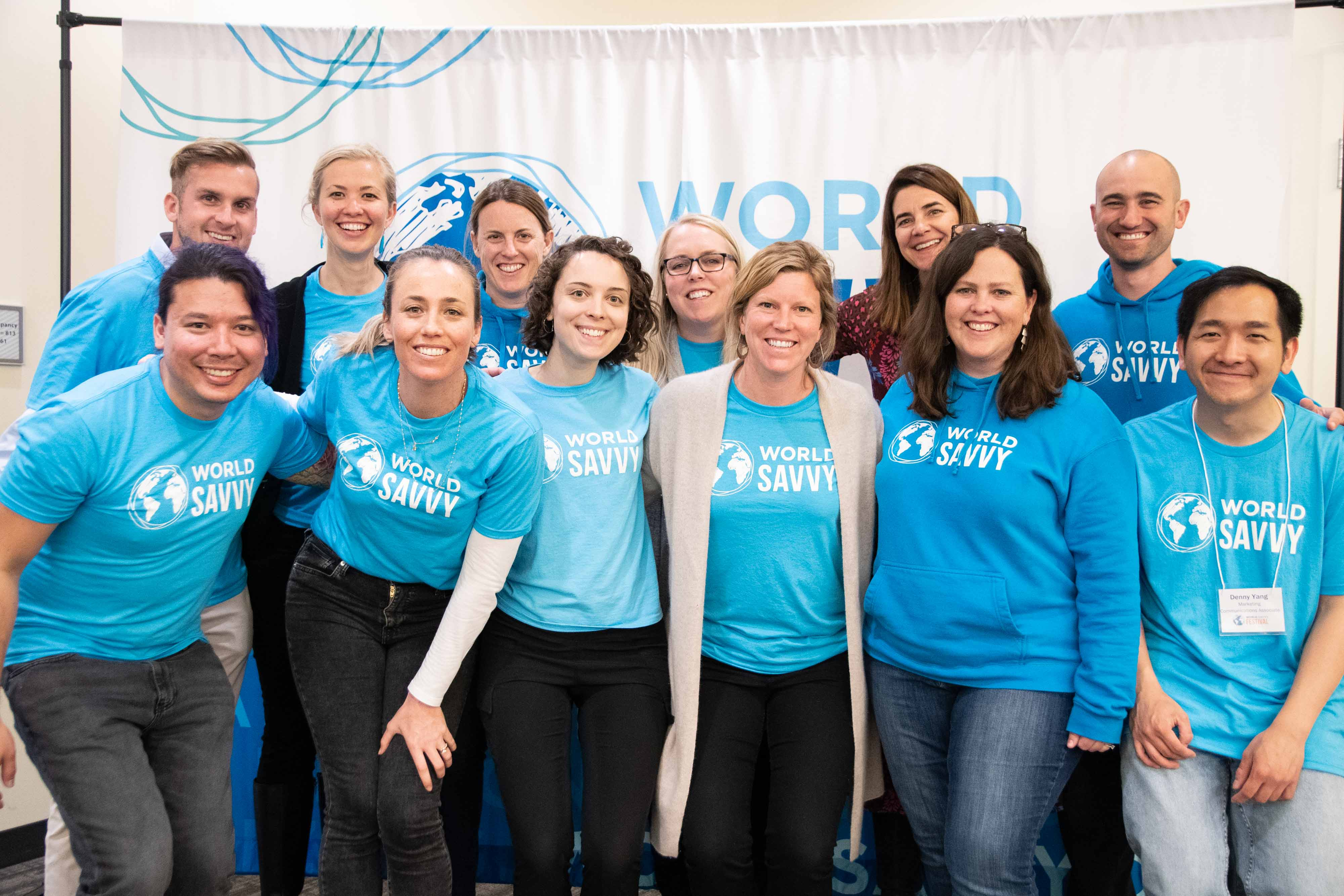 World Savvy Staff at the World Savvy Festival 2019 in Saint Paul, MN.