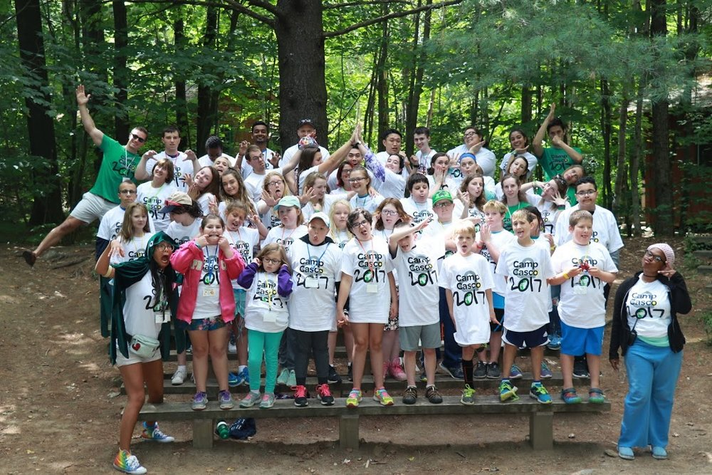 Camp Casco 2017 Group photo