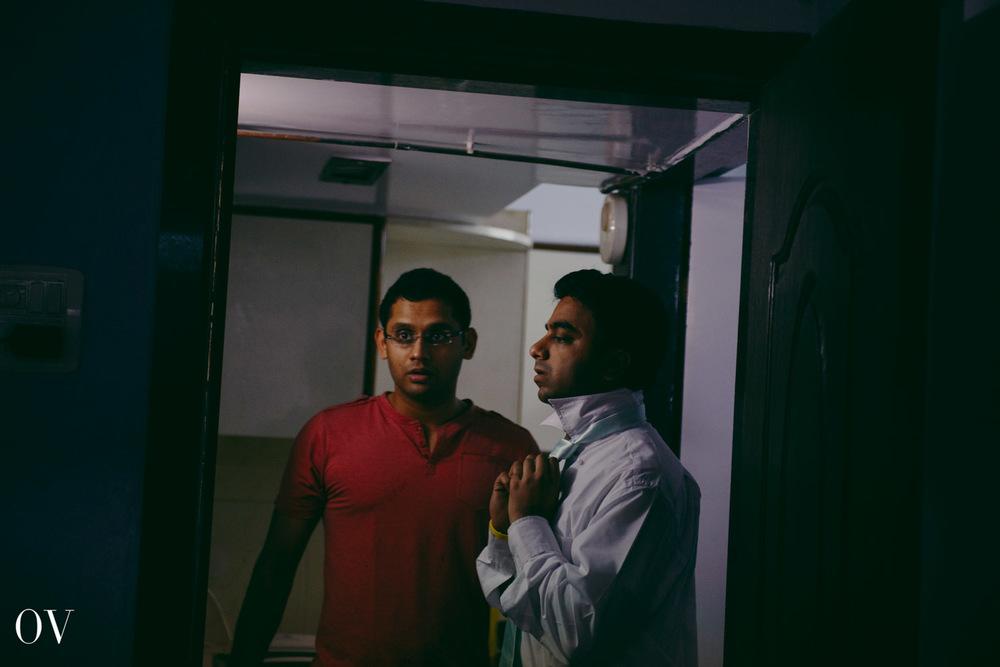 Mumbai Christian Wedding-Groom Getting Ready-004.JPG